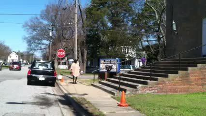 Outside Rudy Langford's funeral | Video