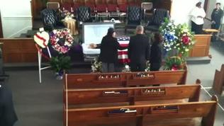 Rudy Langford funeral: Guests begin arriving in church | Video