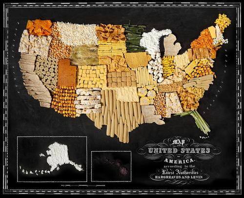 The United States made of corn.