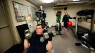 Meals and exercise fit for a firefighter