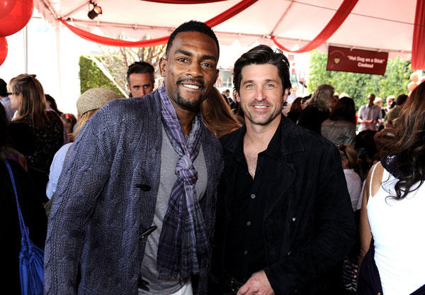 Bill Bellamy and Patrick Dempsey
