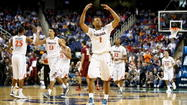 Harris helps Virginia end 19-year drought in making ACC tourney semifinals with 64-51 win against FSU
