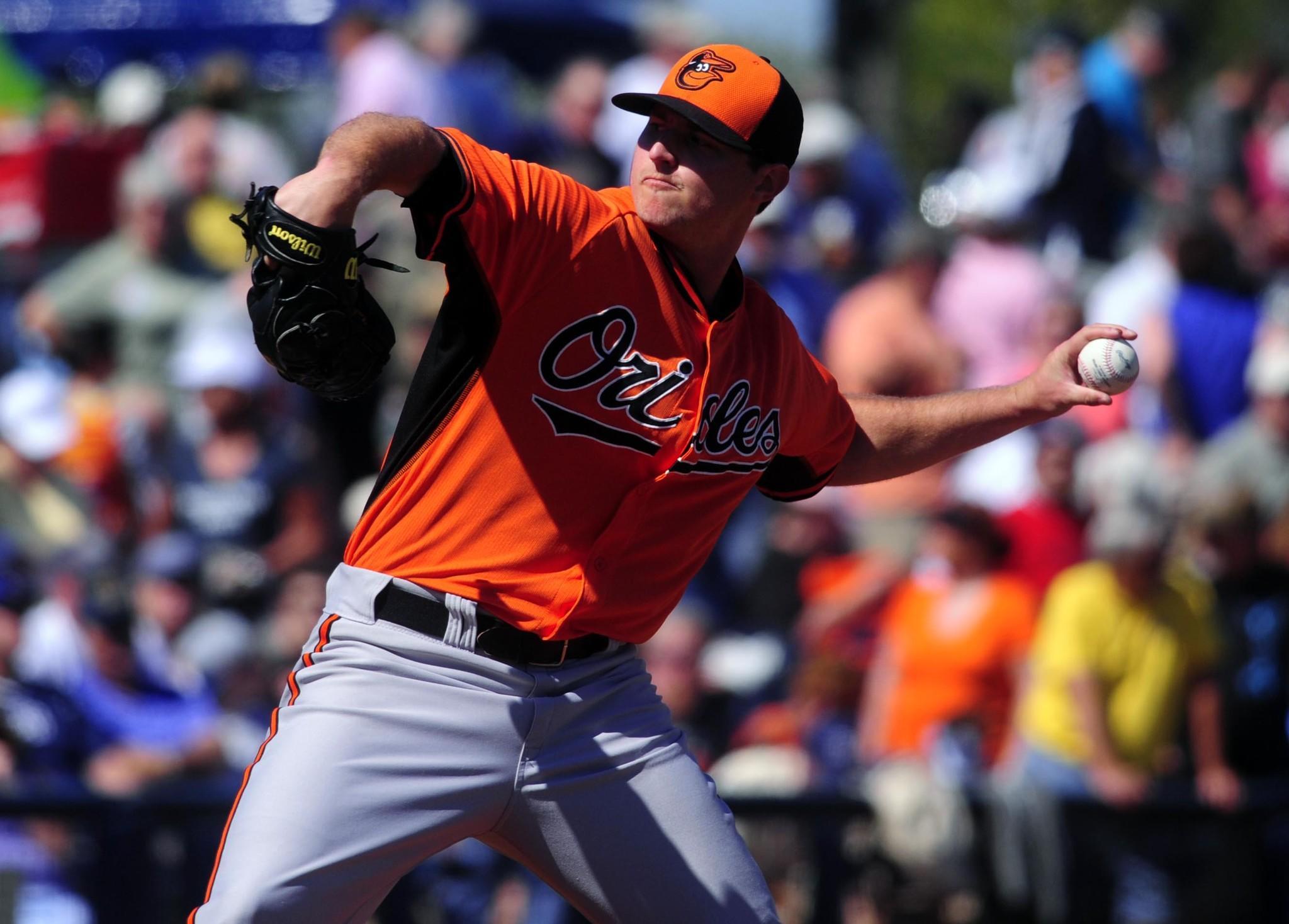 Orioles starting pitcher Zach Britton