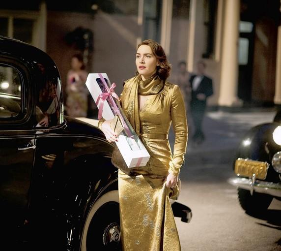 "Kate Winslet in ""Mildred Pierce."""