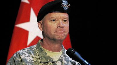 At Fort Eustis, new general David G. Perkins looks to the future