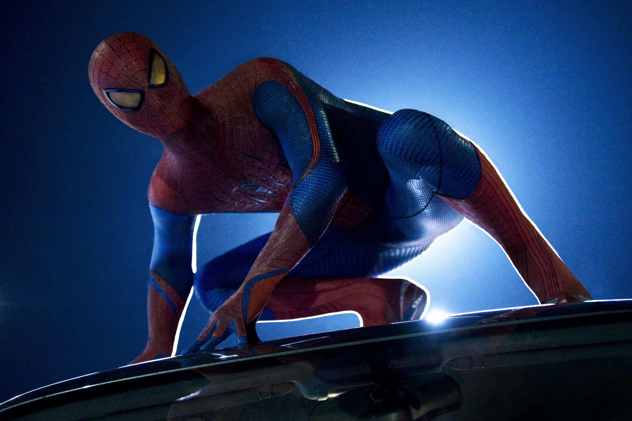 "Andrew Garfield stars as Spider-Man in ""The Amazing Spider-Man"" and the upcoming ""The Amazing Spider-Man 2."""