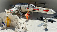 Photos: First look at Star Wars Miniland at Legoland California