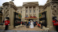 Lego royal wedding: 'Prince William' and 'Kate Middleton' exchange vows at Legoland Windsor