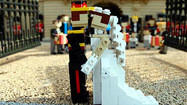 Photos: Prince William and Kate Middleton's Lego royal wedding