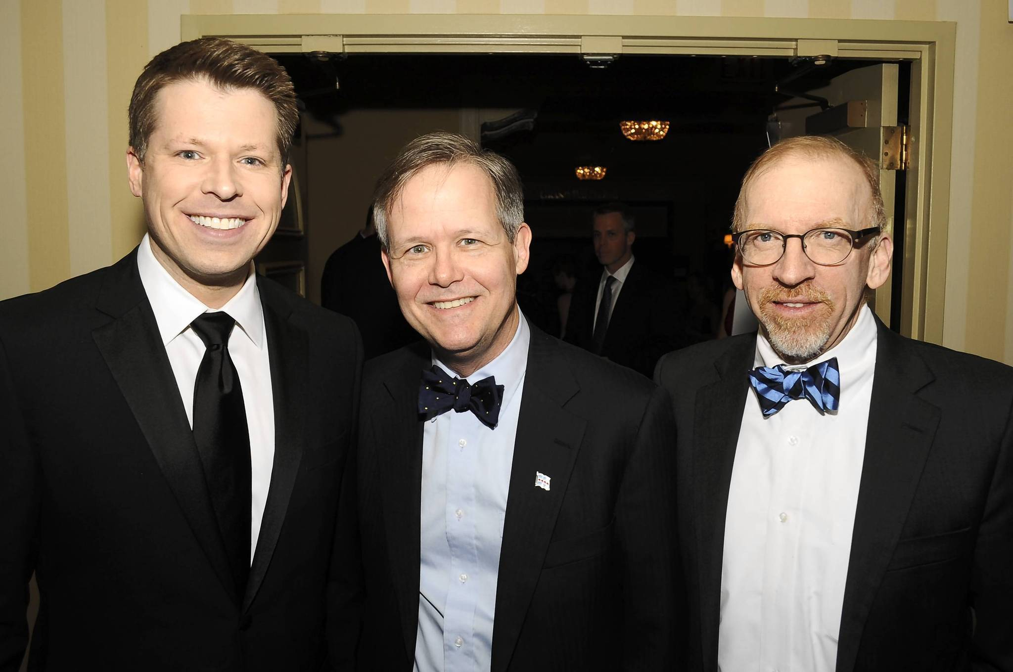 Sean Lewis, Alderman James Cappleman, and Richard Thale at the Children's Advocacy Center Gala.