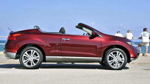 Nissan Murano CrossCabriolet combines open air with utility