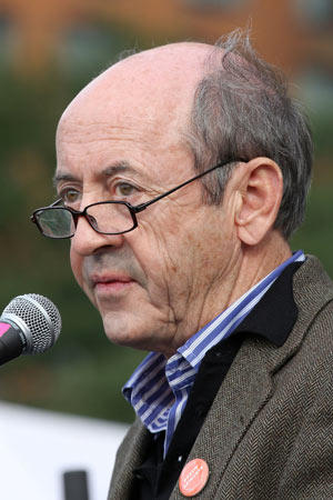 [Former U.S. Poet Laureate Billy Collins.