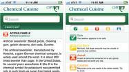 Food app deciphers ingredients