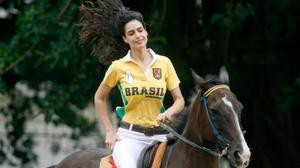 Brazilian model/polo player shares her workout routine