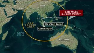 Latest developments in missing Malaysia flight