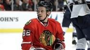 Hawks' Kopecky skates, but won't play in Game 7