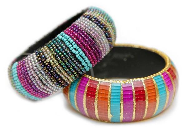 """Forever 21 bracelets, $5.80 each, <a href=""""http://forever21.com"""">forever21.com</a>."""