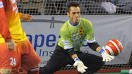 Blast goalie William Vanzela will play in second game of MISL final