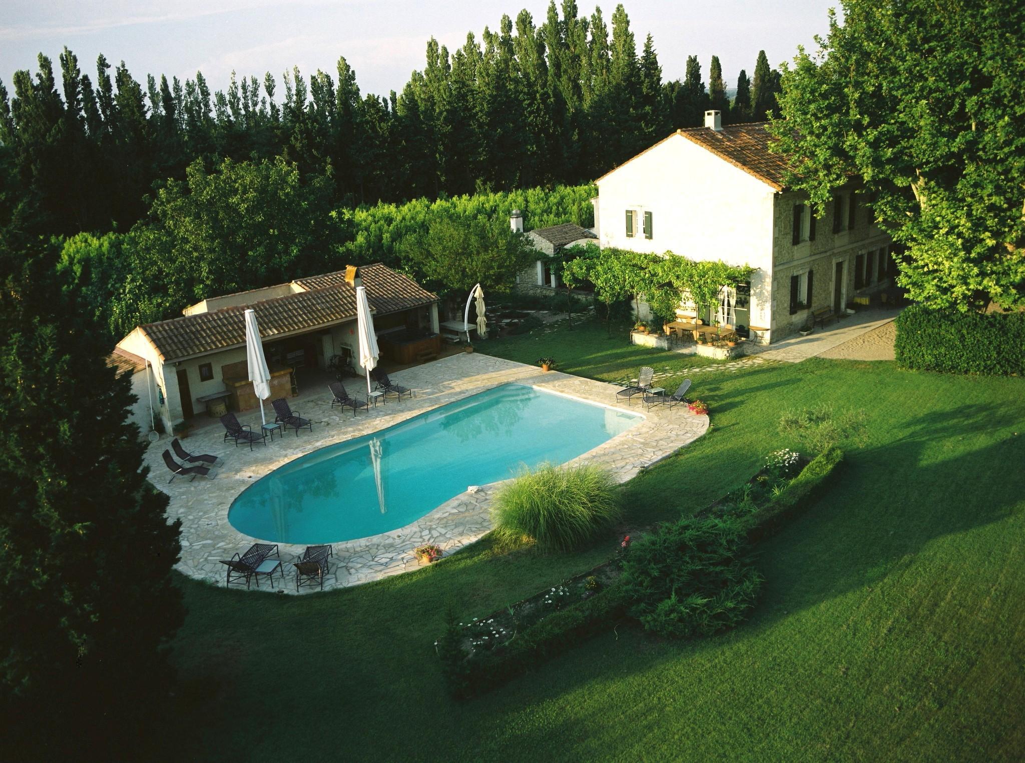 Tour participants will spend seven nights at Mas de Cornud, a restored farmhouse in Saint Remy-de-Provence, France.