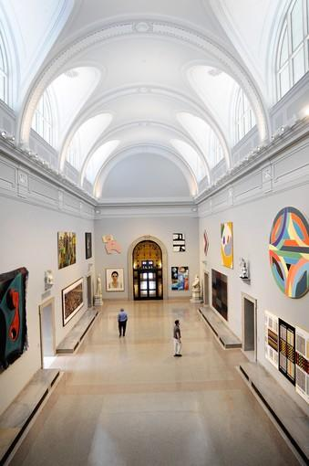 New look at MorganCourt at the Wadsworth Atheneum Musuem of Art.
