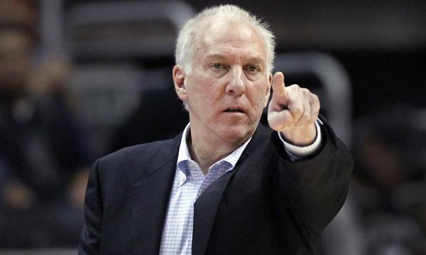 San Antonio Spurs Coach Gregg Popvich thinks pretty highly of Chicago Bulls center Joakim Noah.