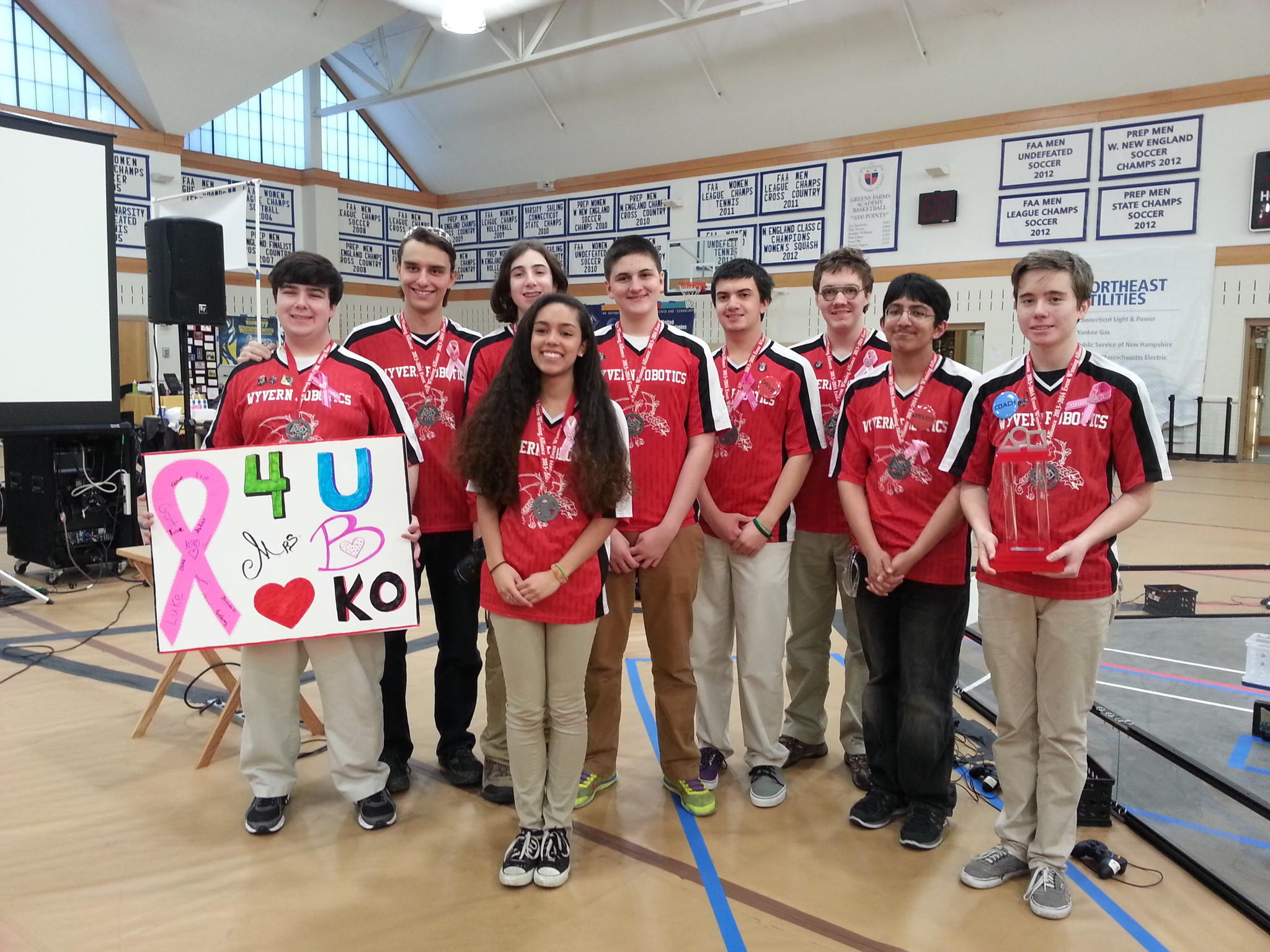 KO's Robotics team placed 1st in the CT State Championship and will compete in the Eastern Super-Regionals in April - the furthest a team has gotten since the program began 8 years ago.