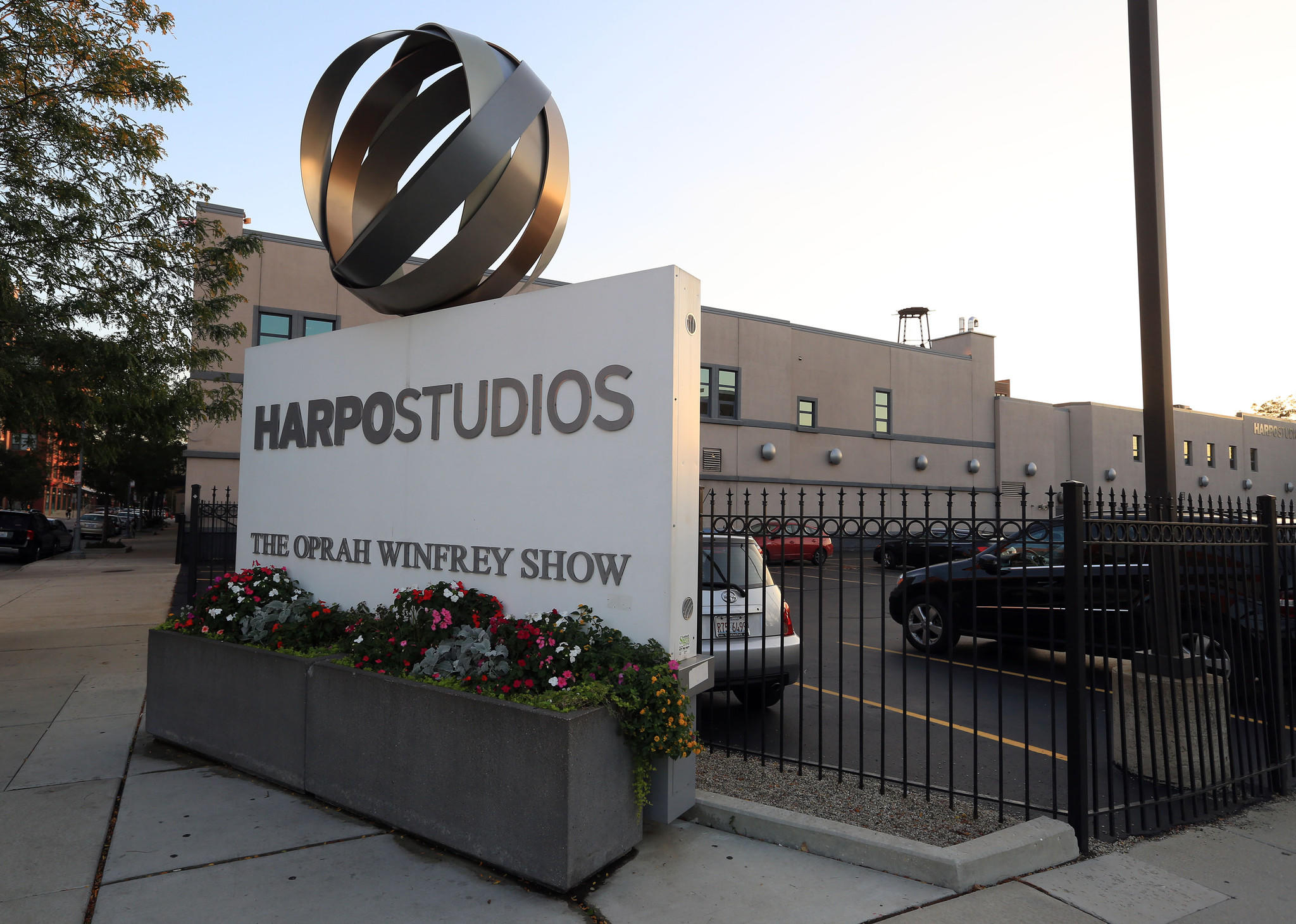 A view of Harpo Studios in Chicago on Oct. 1, 2013.