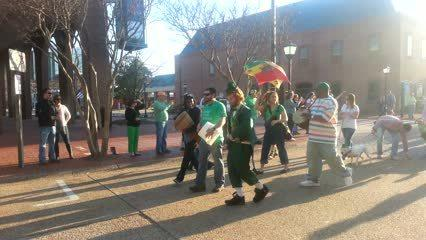 Video: St. Patrick's Day parade in Hampton