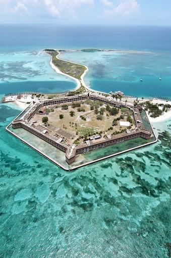 Fort Jeffersonv in the Dry Tortugas National Park