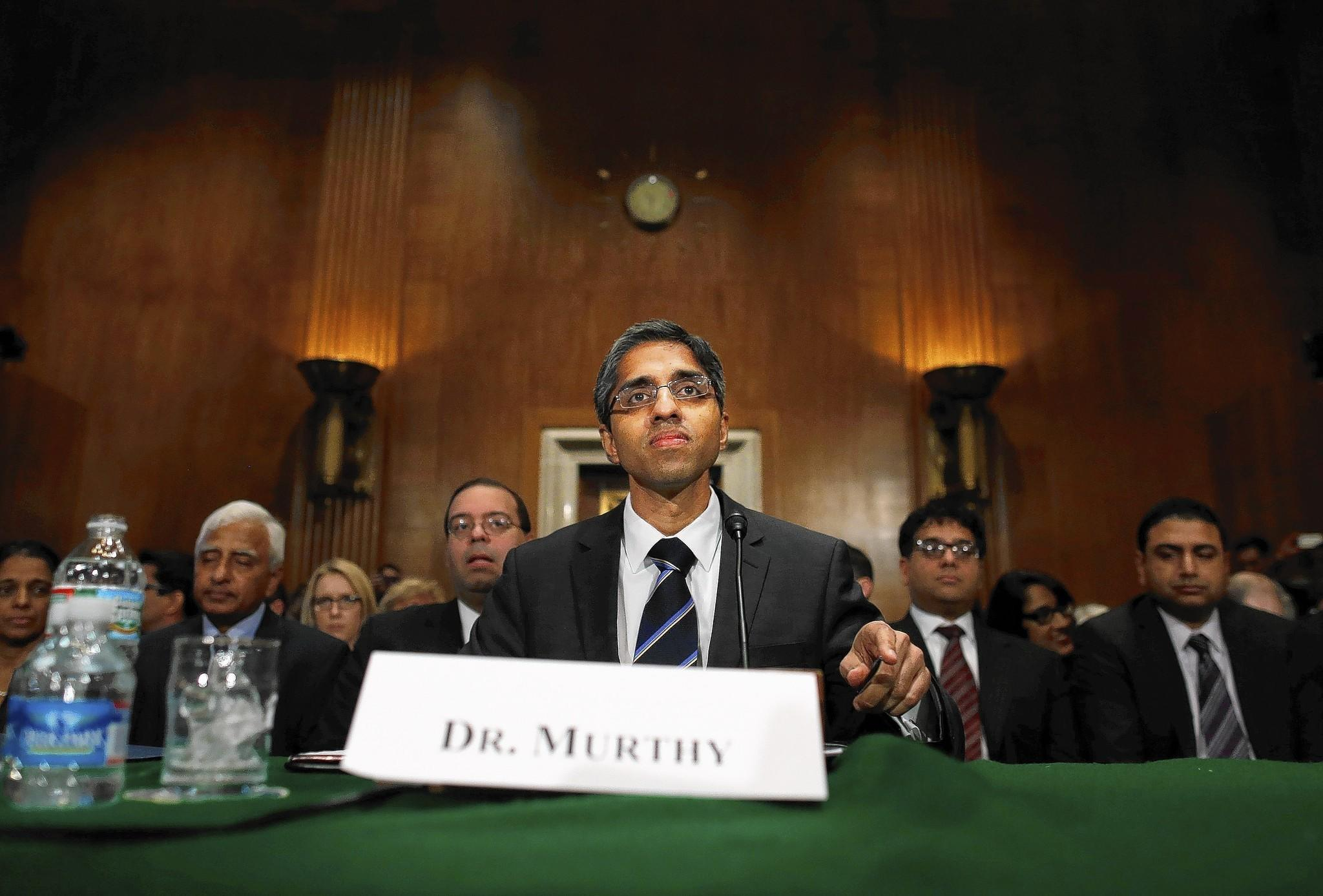 Dr. Vivek Hallegere Murthy said at February's hearing on his nomination for surgeon general that he didn't plan to use the position as a bully pulpit for gun control.