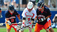 Virginia upsets second-seeded Cornell, 13-9, to advance to final four
