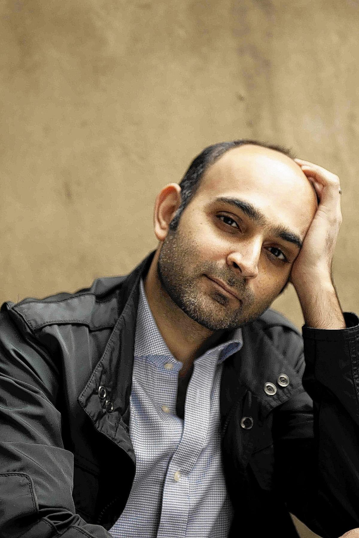 Pakistani-born author Mohsin Hamid