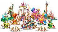Disneyland:  Concept art of 'Mickey's Soundsational Parade'