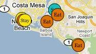 Interactive map: Places to shop, eat and sleep in coastal Orange County