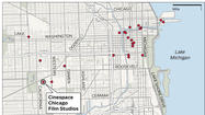 Map: 'Divergent' filming sites in Chicago