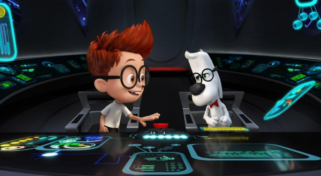 """Mr. Peabody & Sherman"" debuted in second place last weekend but moved into the top spot this weekend."