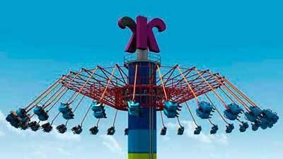 Photos Windseeker Tower Swing Ride At Knott S Berry Farm