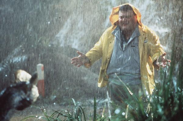 "The actor, shown here as a deceitful computer programmer in ""Jurassic Park,"" responded humorously to Web rumors of his death."