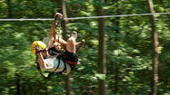 New River Gorge offers vacation with zip