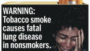 New cigarette warning labels unveiled