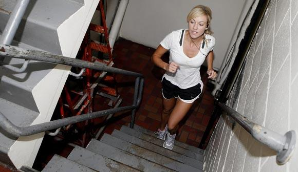 Stair exercise