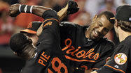 Lee's walk-off homer in 12th pushes O's past Reds