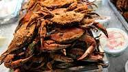 Crabs plentiful for now, though still pricey