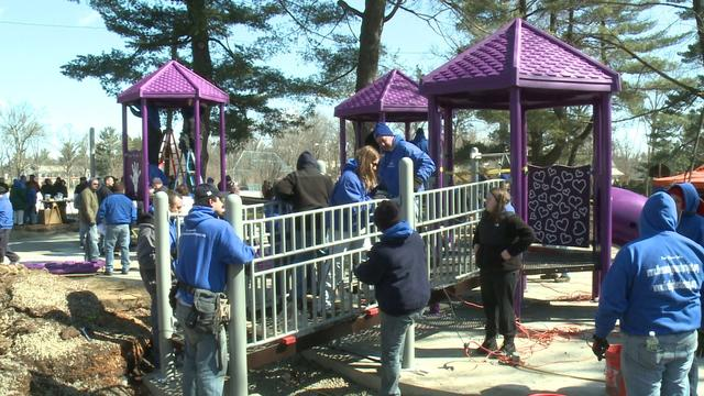 Elizabeth Park Playscape Honors Newtown Victim