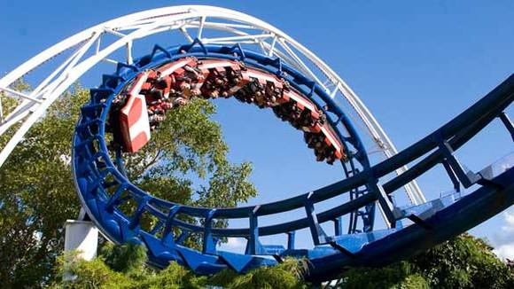 Corkscrew at Cedar Point
