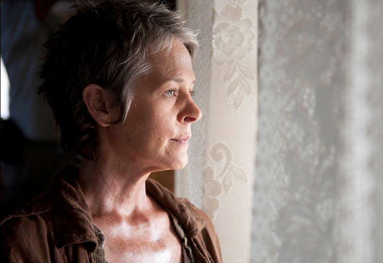 Carol (Melissa McBride) did what had to be done