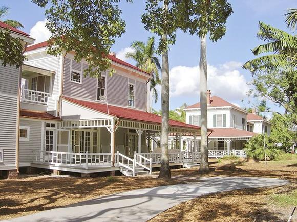 You can check out Thomas Edison's home in Fort Myers on your own -- or with a tour guide.