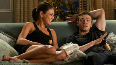 Mila Kunis and Justin Timberlake of 'Friends with Benefits'