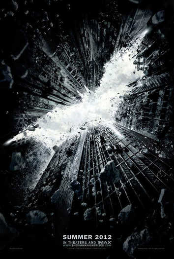"""The Dark Knight Rises"" poster"
