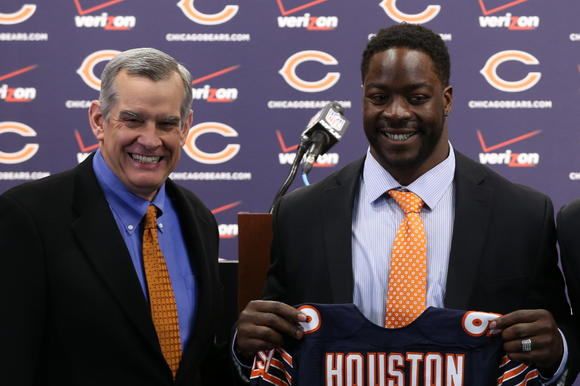 Lamarr Houston joins Bears